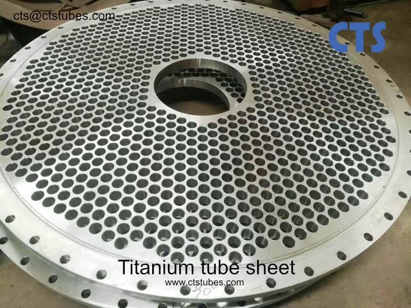 Titanium Tube Sheet for Exchanger