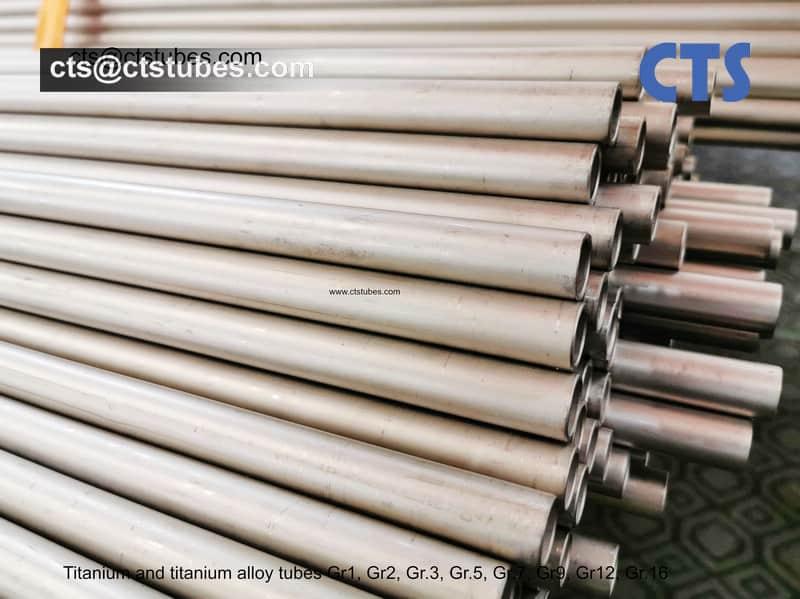 Titanium and Titanium Alloy Tubes Gr.1 Gr.2