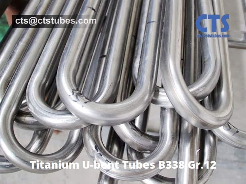 Titanium U tubes B338 GR12