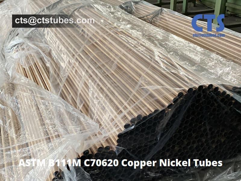 ASTM B111M C70620 Copper Nickel 90-10 Tubes