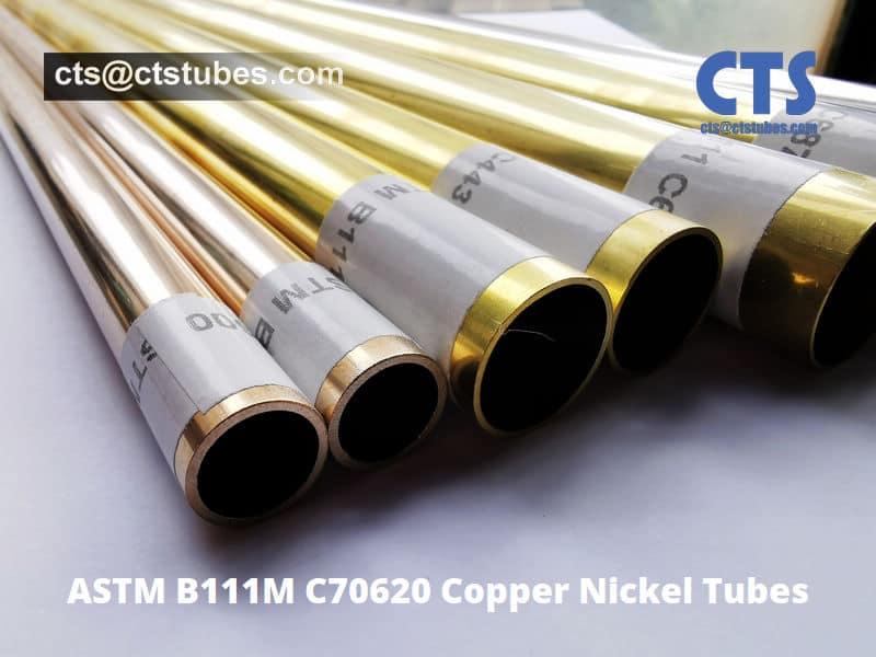 ASTM B111M C70620 Copper Nickel Tubes