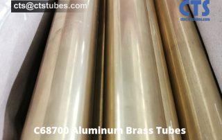 C68700 Aluminum Brass Tubes