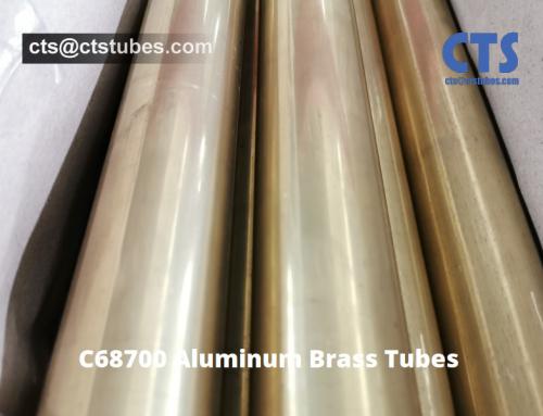 C68700 Aluminum Brass Tubes Shipment