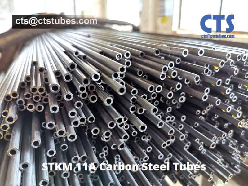 STKM 11A Carbon Steel Tubes Bright Anneal Surface