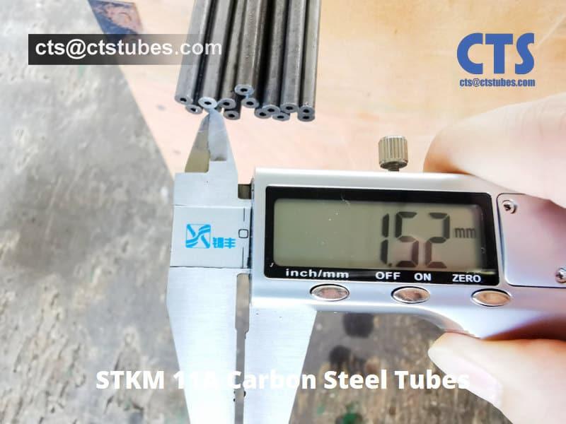 STKM 11A Carbon Steel Tubes I.D. Inspection