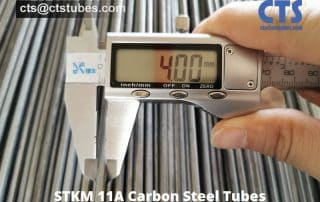 STKM 11A Carbon Steel Tubes O.D. Inspection