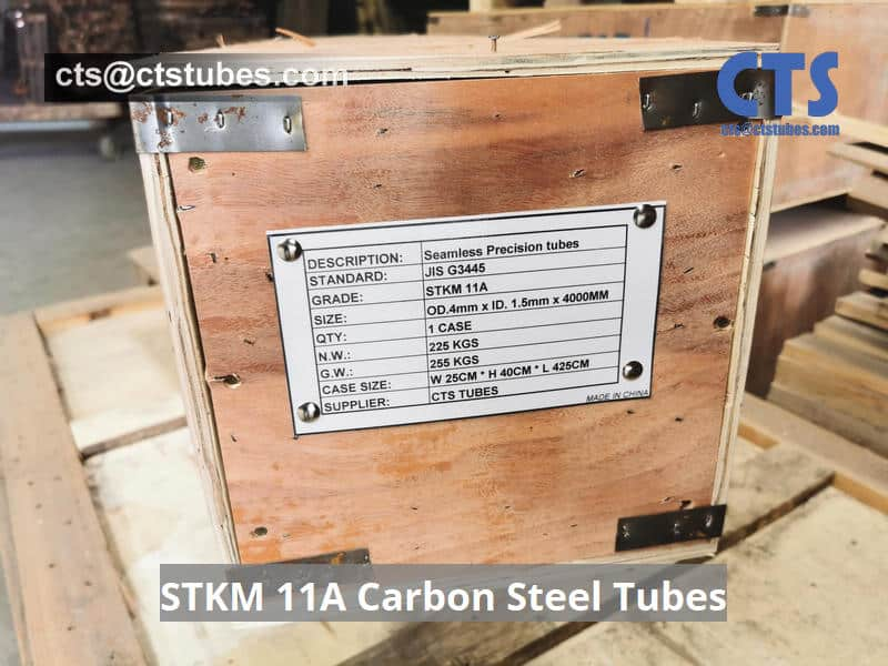 STKM 11A Carbon Steel Tubes Package