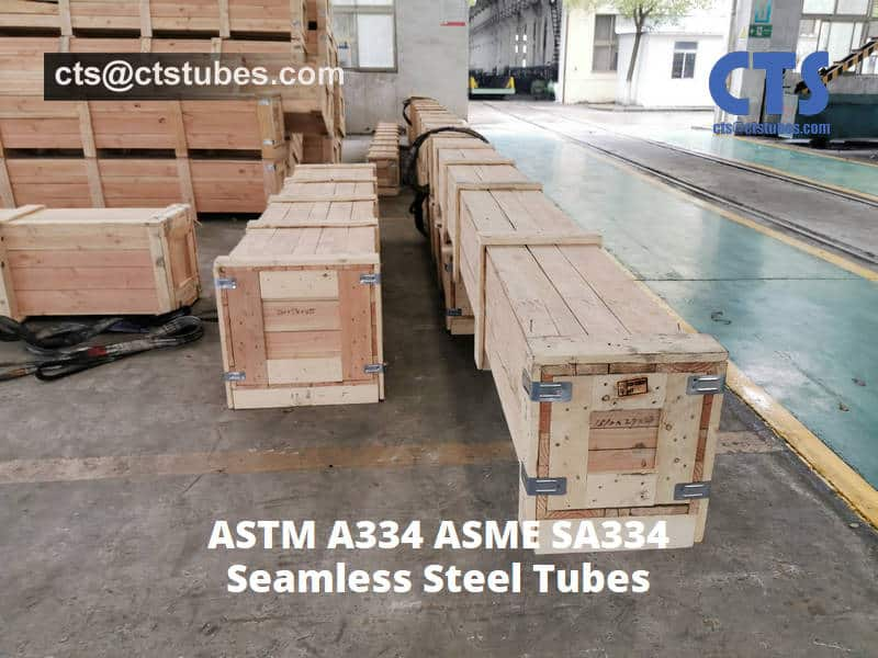 A334 GR.6 Seamless Tubes wooden box package