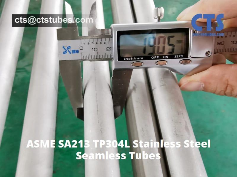 ASME SA213 TP304L Stainless Steel-tubes OD. inspection