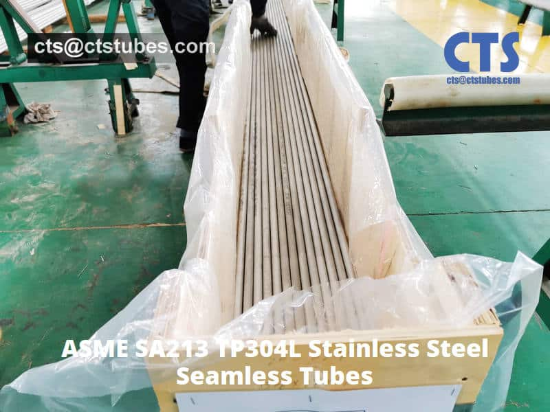 ASME SA213 TP304L Stainless Steel-tubes Package