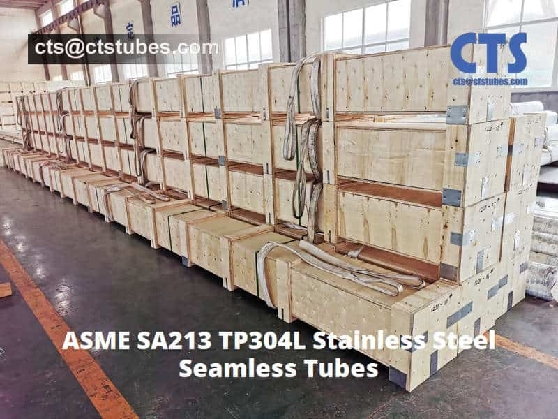 ASME SA213 TP304L Stainless Steel-tubes Wooden Box Package