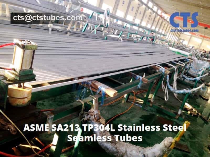 ASME SA213 TP304L Stainless Tubes for Hydrostatic Testing