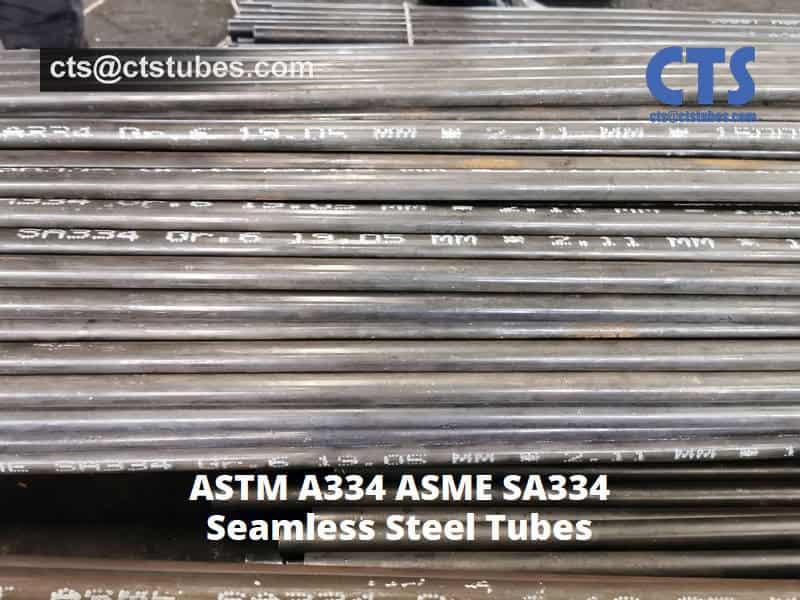 ASME SA334 Gr.6 Seamless Tubes 19.05