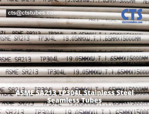 ASME SA213 TP304L Stainless Steel Tubes Shipping