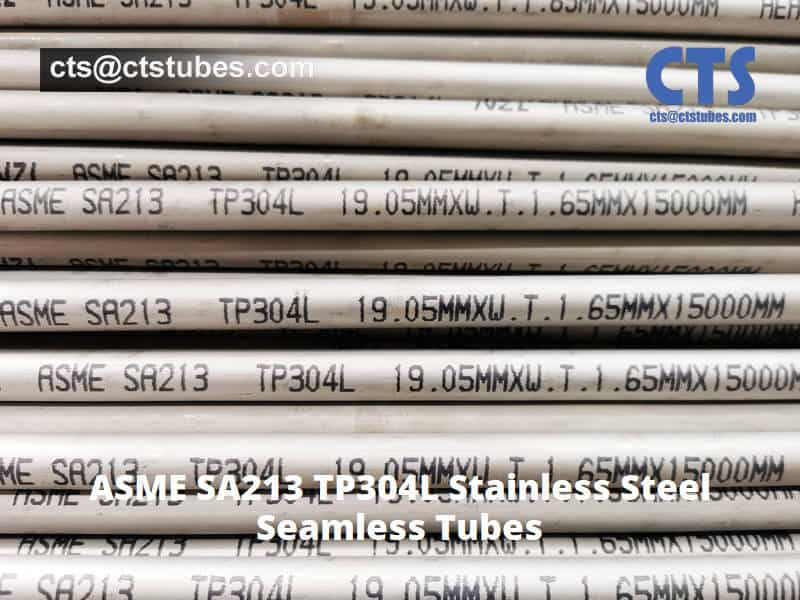 SA213 TP304L Seamless Stainless-Steel Tubes