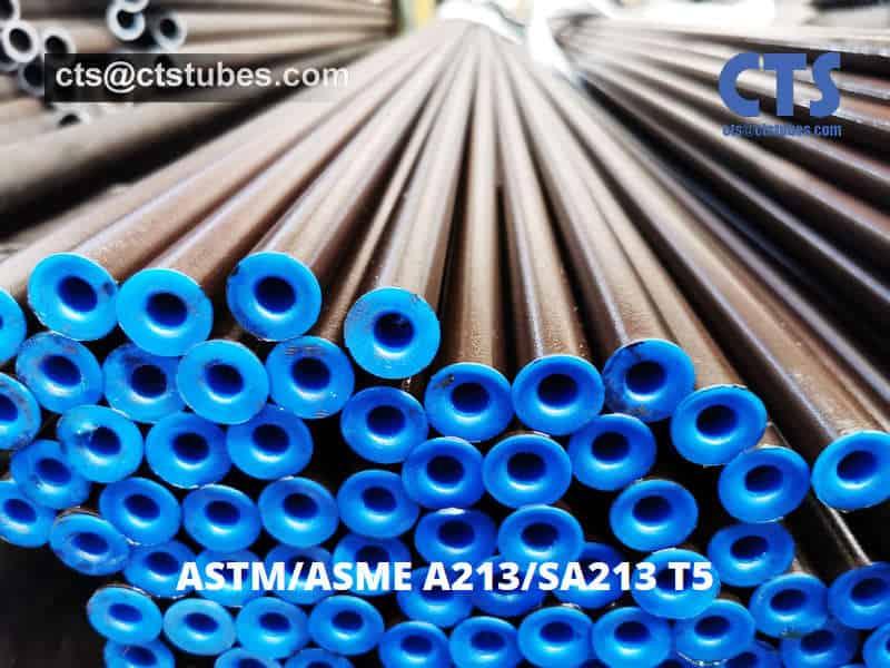 ASTM A213 ASME SA213 T5 Seamless Alloy Tubes