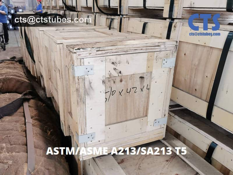 ASTM A213 ASME SA213 T5 Wooden Box Package